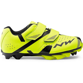 Northwave Hammer 2 Shoes Kids yellow fluo/black